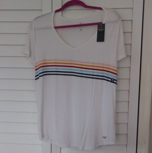 Hollister Striped Tee